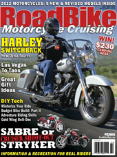 Moto-Grip™ and Moto-Grip Jr.™ are introduced to readers in the January/February 2012 issue of RoadBike Magazine